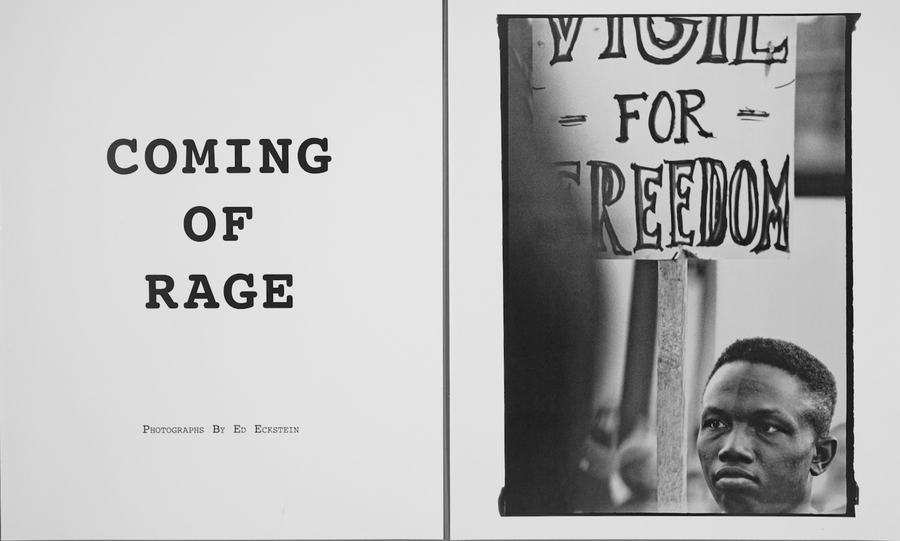 : COMING OF RAGE : ED  ECKSTEIN : PHOTOGRAPHER